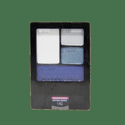 Comprar Cuarteto De Sombras Maybelline Expert Wear Quad Sapphire Smokes X 4,8 Gr