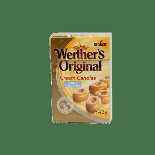 Comprar Werther S Caramelo Minis Sin Azucar X 42