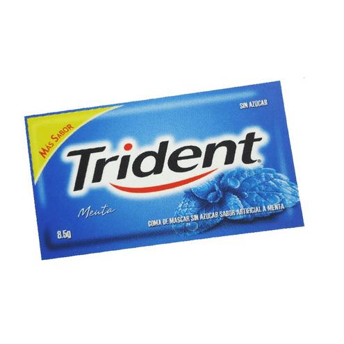 Comprar Chicle Trident Menta X 5