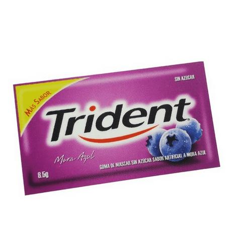 Comprar Trident Mora Azul X 5