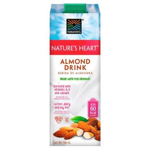 Comprar Bebida De Almendra Nature Heart Almond Drink X 946ml