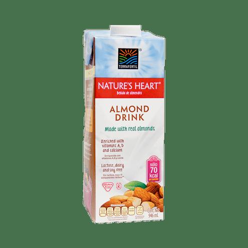 Comprar Bebida De Almendras Sin Gluten Nature Heart X 946ml