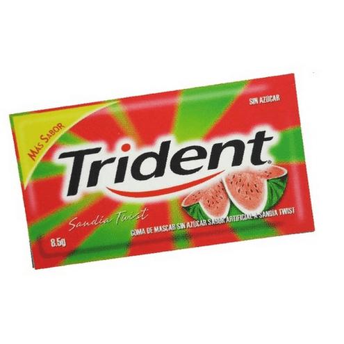 Comprar Chicle Trident Sandia X5unid