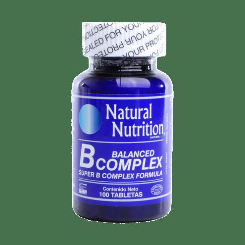 Comprar B Balanced Complex Fco X 100 Tab