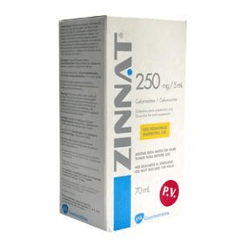 Comprar Zinnat Granulos 250mg/5ml Frasco X 70ml - Zinnat Granulos 250mg/5ml Frasco X 70ml