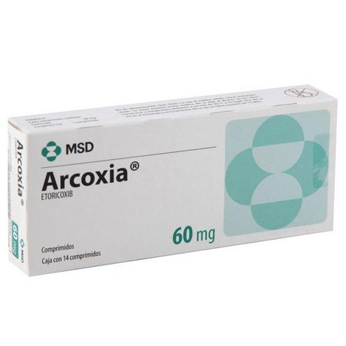 Comprar Arcoxia 60mgr X 14 Tabletas