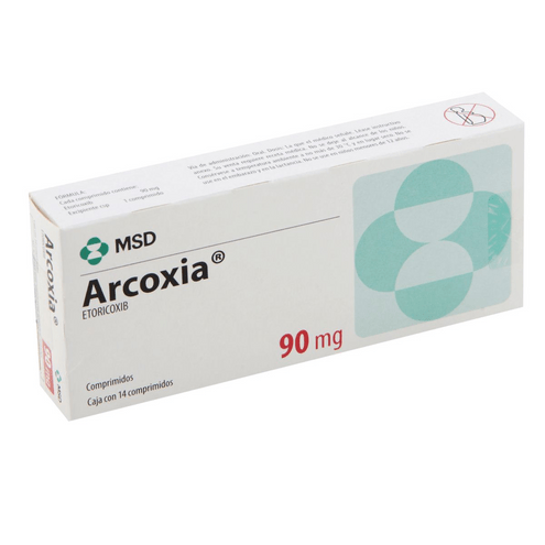 Comprar Arcoxia 90mg X 14 Tabletas