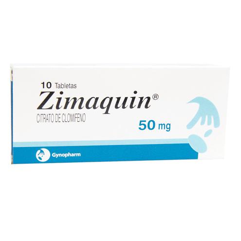 Comprar Zimaquin 50 Mg Cs X 10 Tabletas