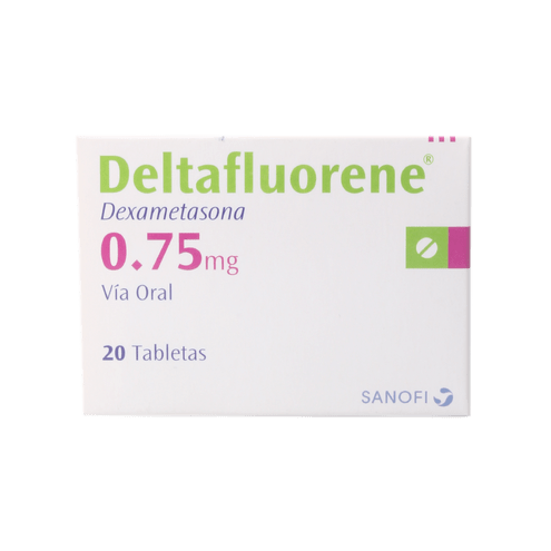 Comprar Deltafluorene 0,75mg Caja X 20 Tabletas
