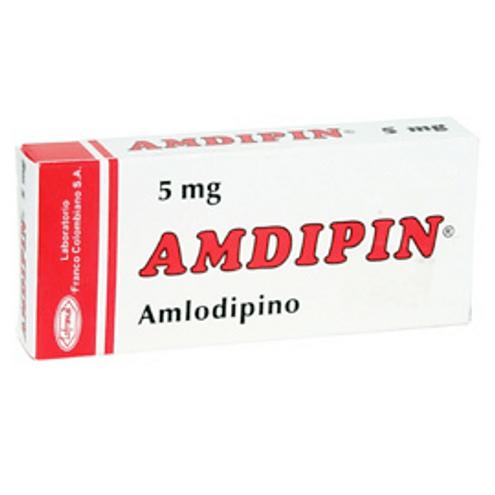 Comprar Amdipin 5 Mg X 30 Tabletas