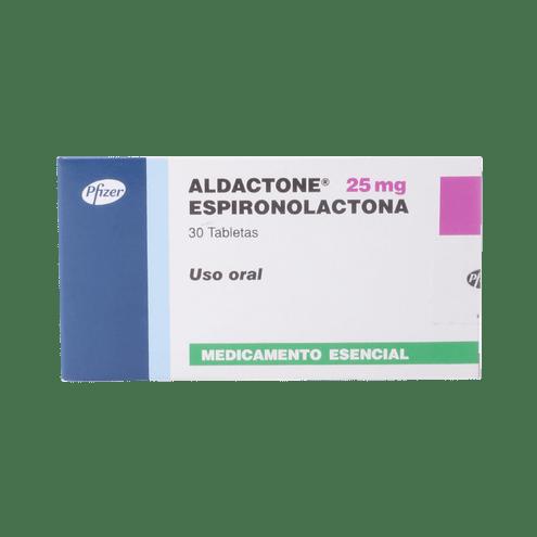 Comprar Aldactone 25mg X 30 Tabletas