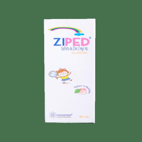 Comprar Ziped Sulf.Zinc 2mg/Ml Durazno X 90ml