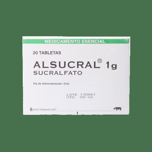Comprar Alsucral 1gr Caja X 20 Tabletas