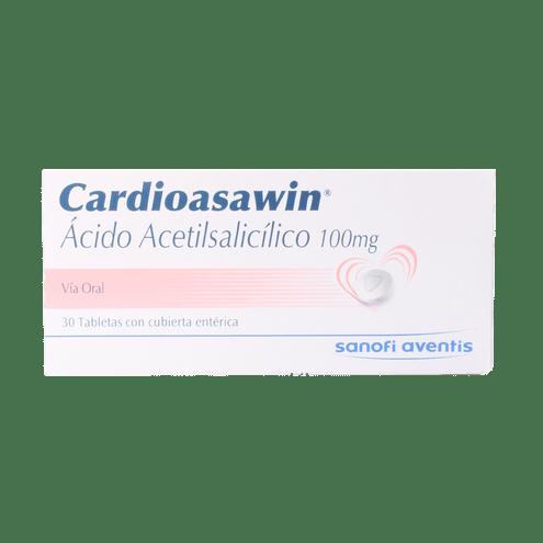 Comprar Cardioasawin 100 Mg Cja X 30 Comprimidos