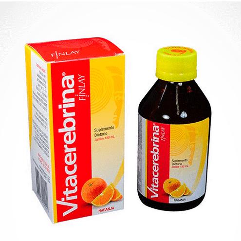 Comprar Vitacerebrina Finlay Naranja Jarab 180ml