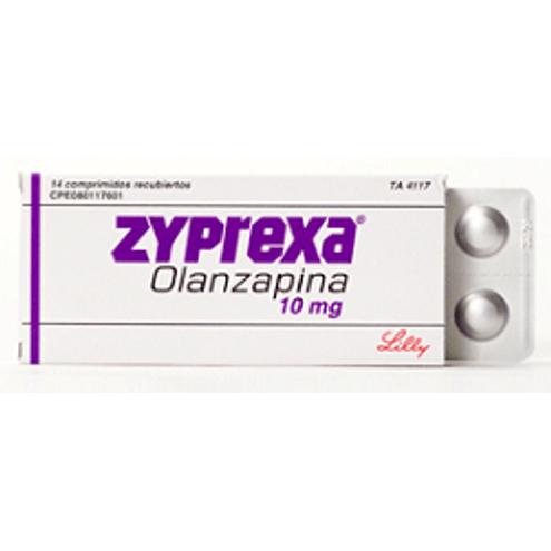 Comprar Zyprexa 10mg Caja X 14 Comprimidos