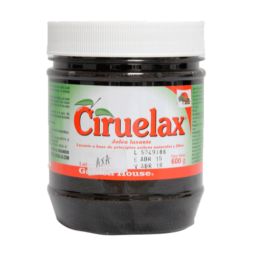 Comprar Ciruelax Jalea Laxante Frasco X 600grm