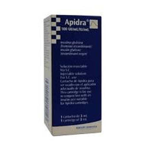 Comprar Apidra 300ui-3ml X 1 Cartucho