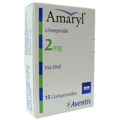 Comprar Amaryl 2mg Caja X 15 Comprimidos