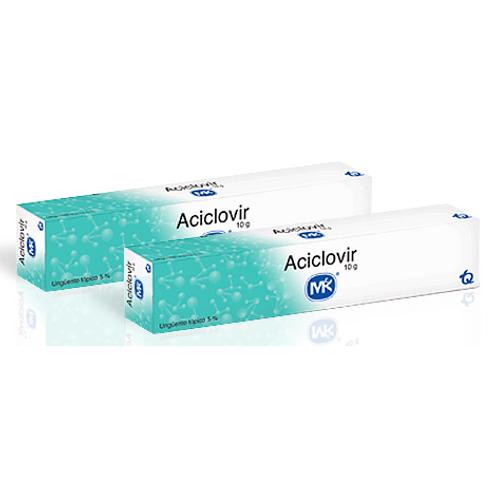 Comprar Aciclovir 5% Unguento Mk