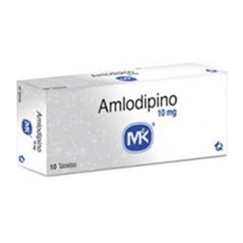 Comprar Amlodipino 10mg X 10 Tabletas