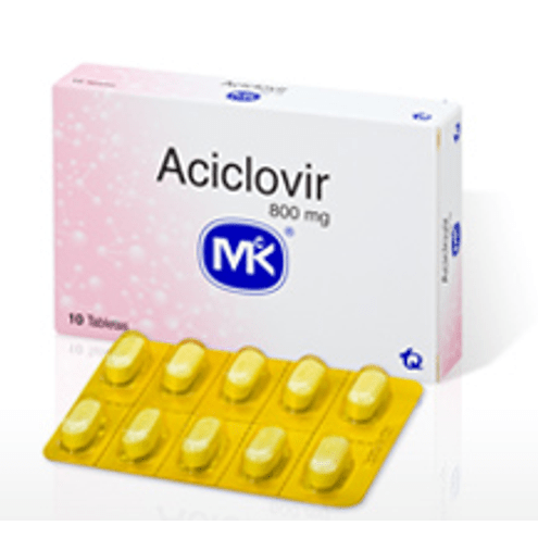 Comprar Aciclovir Mk 800 Mg Caja X 10 Tabletas