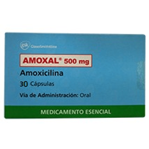 Comprar Amoxal 500mg Caja X 30 Capsulas
