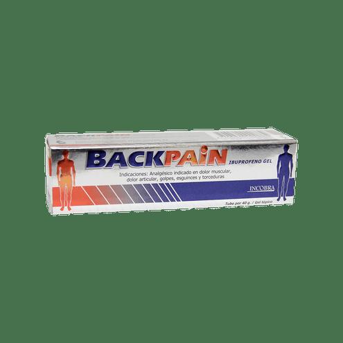 Comprar Backpain Gel Topico Tubo X 40 Gramos