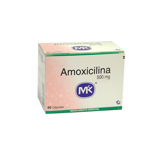 Comprar Amoxicilina 500mg Caja X 60 Capsulas