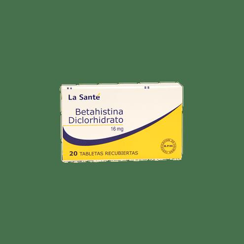 Comprar Betahistina 16mg Caja X 20 Tabletas La Sante