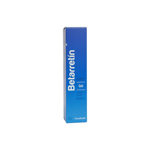 Comprar Betarretin 0.025% Gel (Tretinoina)