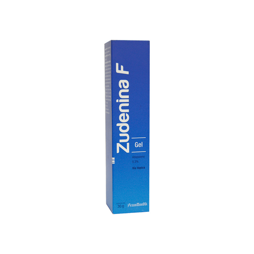 Comprar Zudenina F 0.3% Gel Tubo X 30 Gr - Zudenina F 0.3% Gel Tubo X 30 Gr