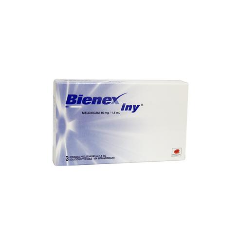 Comprar Bienex 15mg /1.5ml X 3 Jeringas Prellenadas