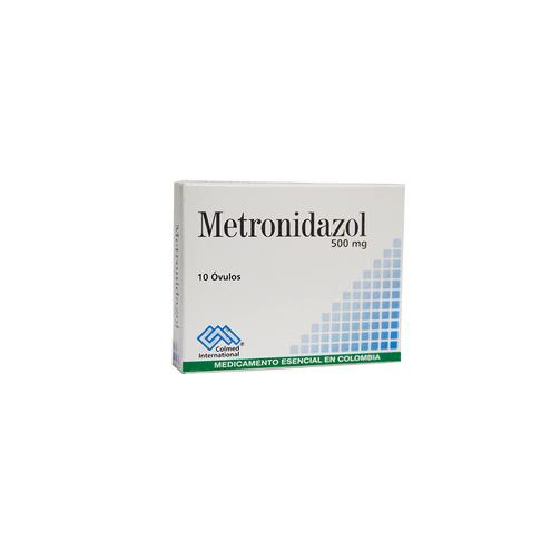 Comprar Metronidazol 500mg X 10 Ovulos