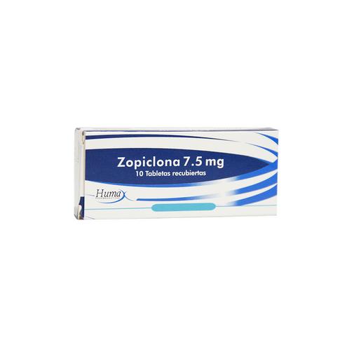 Comprar Zopiclona 7.5 Mg X 10 Tabletas