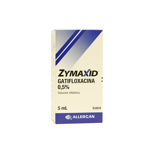 Comprar Zymaxid 05% X 5ml - Zymaxid 05% 5ml
