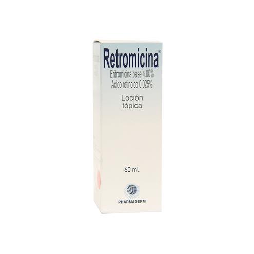 Comprar Retromicina Locion Topica 4% X 60ml