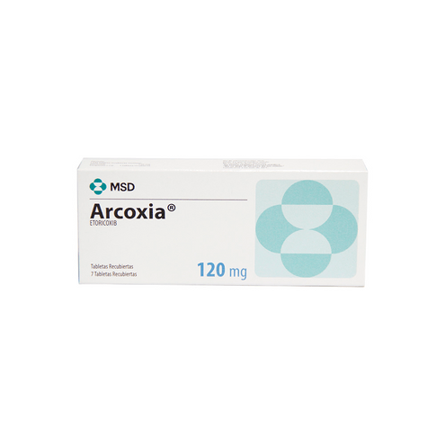 Comprar Arcoxia 120mg X 7 Tabletas