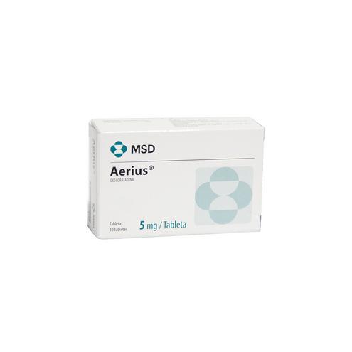 Comprar Aerius 5mg Caja X 10 Tabletas