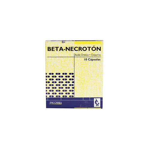 Comprar Betanecroton Caja X 10 Capsulas