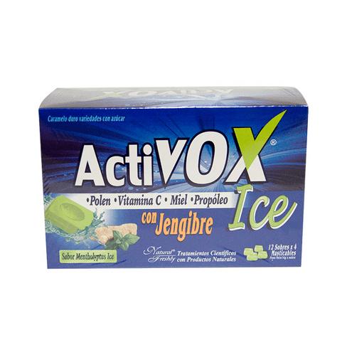 Comprar Activox Ice Con Jengibre X 12 Sobres