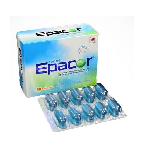Comprar Epacor 465mg/375mg X 30 Capsulas