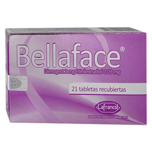 Comprar Bellaface 2/0.03 Mg X 21 Tabletas