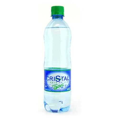 Comprar Agua Con Gas Pet 600ml.Cristal