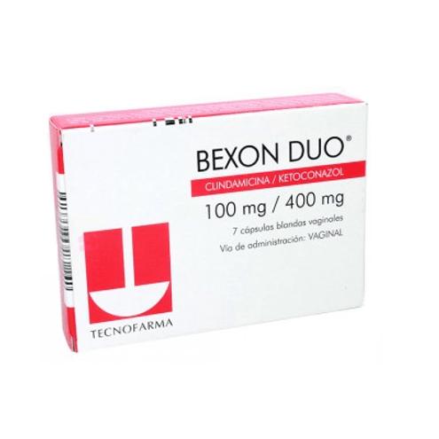 Comprar Bexon Duo 100mg/400 Mg X 7 Ovulos