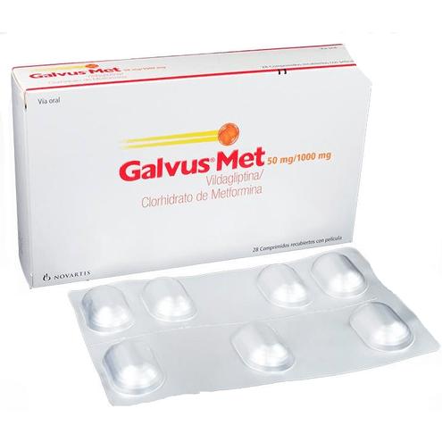Comprar Galvus Met 50mg/1000mg Caja X 28 Comprimidos
