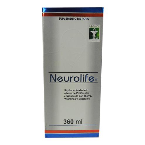 Comprar Neurolife Solucion Oral Vitaminas Minerales 360ml