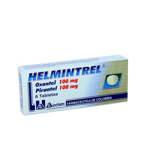 Comprar Helmintrel X 6 Tabletas