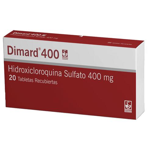 Comprar Dimard 400mg Caja X 20 Tabletas