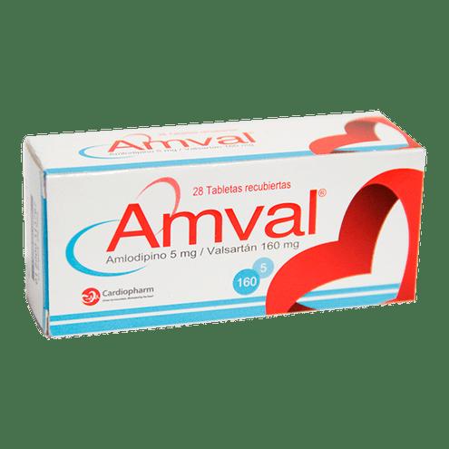 Comprar Amval 5/160mg X 28 Tabletas